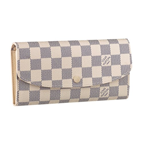 Louis Vuitton Damier Canvas Emilie Wallet Article: N63546 Made in France