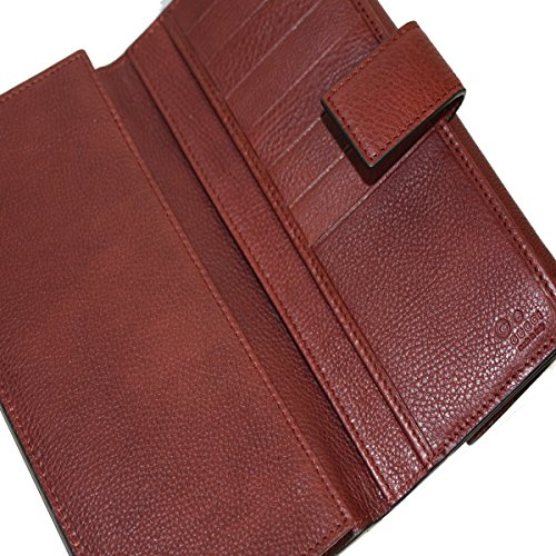 4567f45280aa Home / Shop / Women / Accessories / Handbags & Wallets / Gucci Leather  Continental Flap Wallet, Red Wine