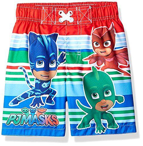 Dreamwave Toddler Boys' PJ Masks Swim Trunk, Royal Blue, 3T