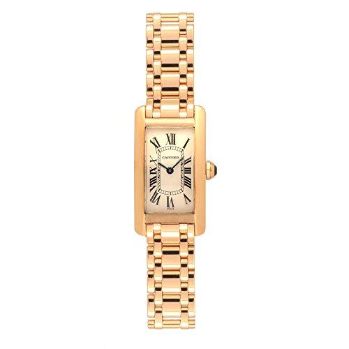Cartier Tank Americaine Quartz Womens Watch 1710 (Certified Pre-Owned)