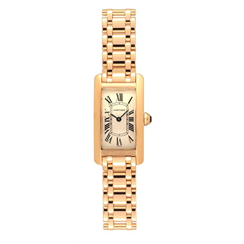 Cartier Tank Americaine Quartz Womens Watch 1710 (Certified Pre-Owned)