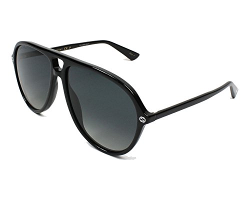 Gucci (Black with Grey Gradient lenses)