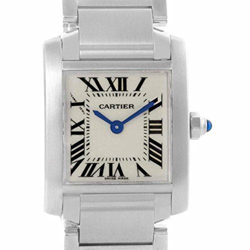 Cartier Tank Francaise quartz female Watch W51008Q3 (Certified Pre-owned)