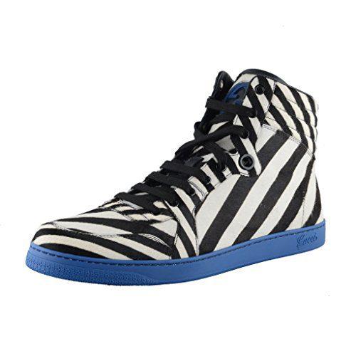 Gucci Pony Hair Fashion Sneakers Shoes US 10.5 IT 9.5 EU 43.5;