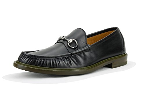 Gucci Men's Horsebit Loafer, Black (Nero),(12 US/11.5 UK)