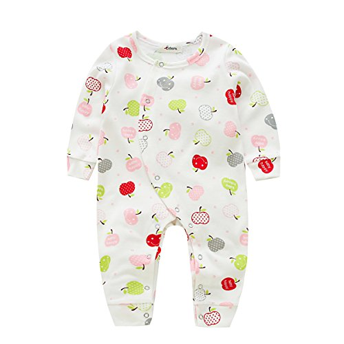 Baywell Cute Baby Printed Romper, Infant Cartoon Pattern Jumpsuit Romper