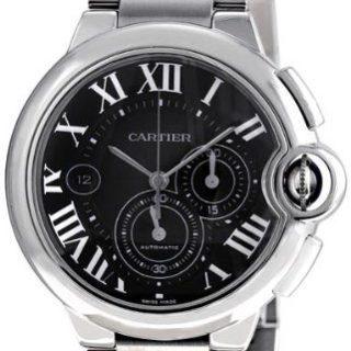 Cartier Ballon Bleu Extra Large 44mm Automatic Black Dial Chronograph Watch