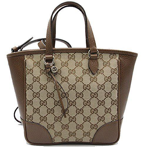 fb7825af0d8d59 Gucci Bree Small GG Canvas Tote Bag Nocciola Brown New Bag Clout ...