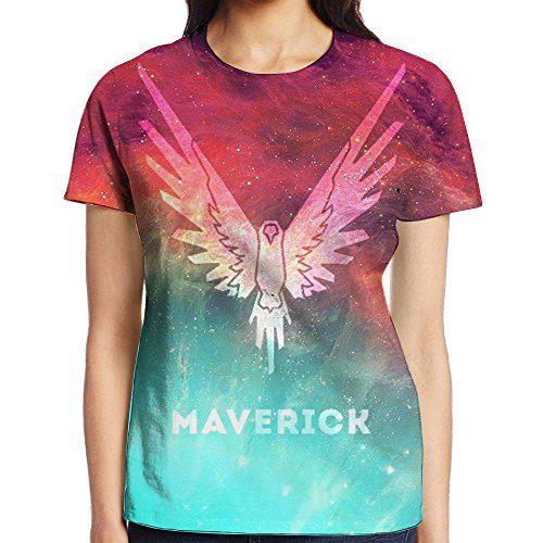 KOHDIAS Logan Paul Maverick The Parrot Women's 3D Print T Shirts