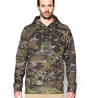 Under Armour Men's Storm Camo Big Logo Hoodie, Ridge Reaper Camo Fo (943)/Maverick Brown, XXX-Large