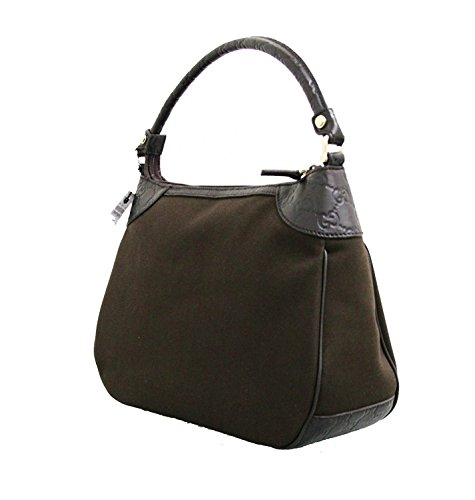 Home   Shop   Women   Accessories   Handbags   Wallets   Gucci Brown Canvas  Hobo Shoulder Bag Guccissima Leather Handbag 7901c9e90f40b