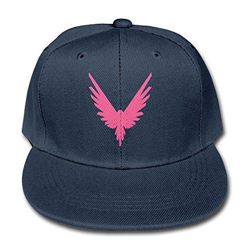 Kddcasdrin Logan Paul Logo Maverick Pink Adjustable Cotton Baseball Cap for Kid