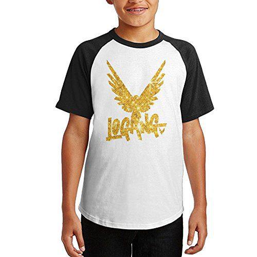 Golden Parrot Youth Cotton Raglan Short Sleeve Tee Shirt