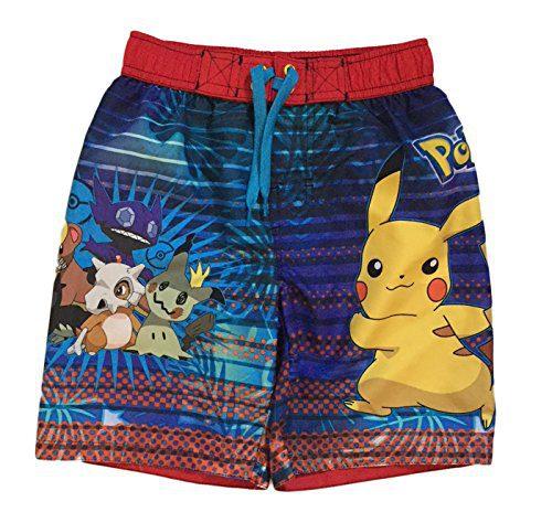 Dreamwave Pokemon Big & Little Boys Swim Trunks (8)