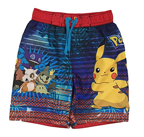 Dreamwave Pokemon Big & Little Boys Swim Trunks (8)