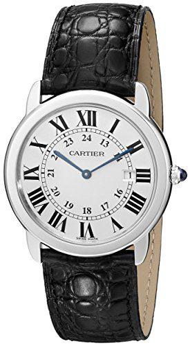 Cartier Ronde Solo Men's Steel Watch