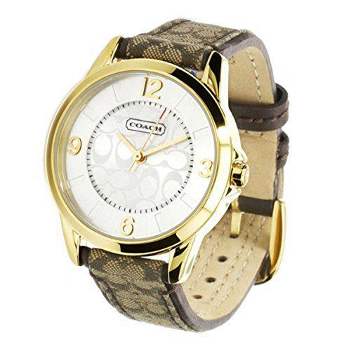 Coach Ladies Watch Swiss Luxury Analog Casual Quartz Watch