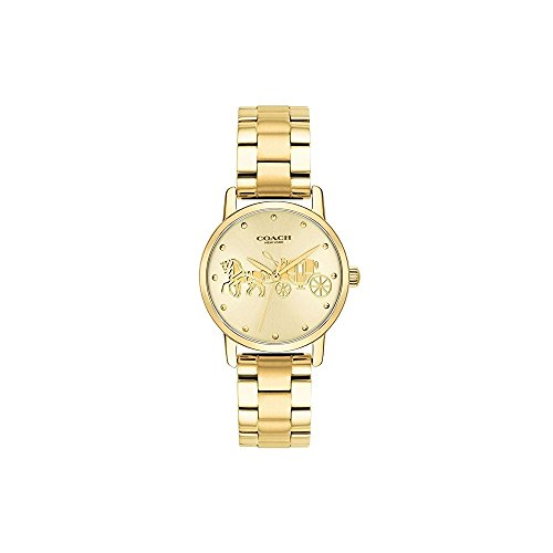 COACH Women's Grand - Gold One Size