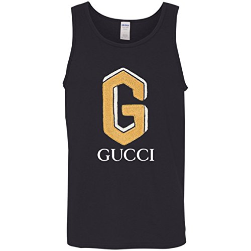 b03cf96a5 Cotton polo with Gucci Shirt Patch Cotton Tank Top Clout Wear ...