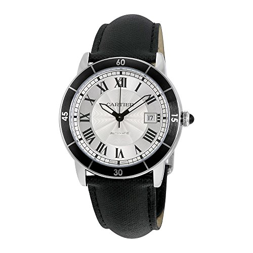 Cartier Ronde Croisiere Silver Dial Automatic Mens Watch