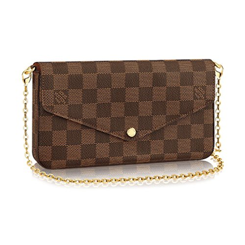 Louis Vuitton Damier Ebene Pochette Félicie Wallet Clutch Article