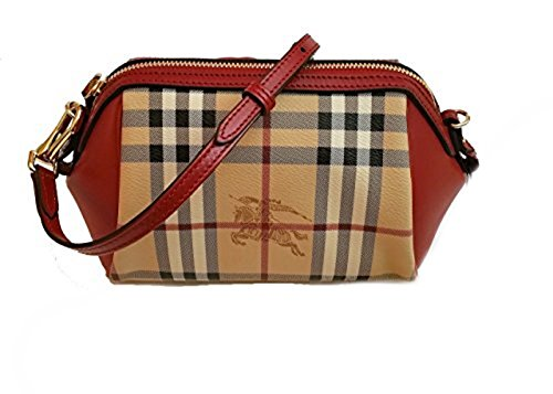 Burberry Haymarket Panels Blaze Mini Crossbody Bag