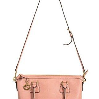 Gucci Women's Pebbled Leather Pink Satchel Handbag Bag