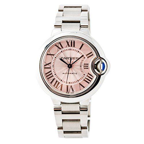 Cartier Ballon Bleu Automatic-self-Wind Female Watch (Certified Pre-Owned)