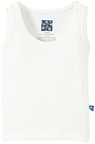 KicKee Pants Baby Girls' Undershirt Tank (Baby) - Natural - 6-12 Months