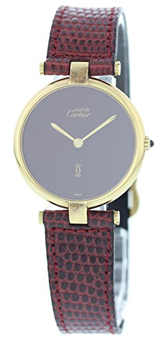 Cartier Vendome swiss-quartz womens Watch (Certified Pre-owned)