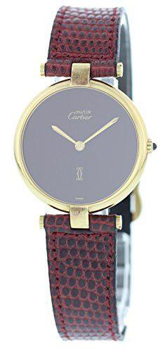 Cartier Vendome swiss-quartz womens Watch (Certified Pre-owned)