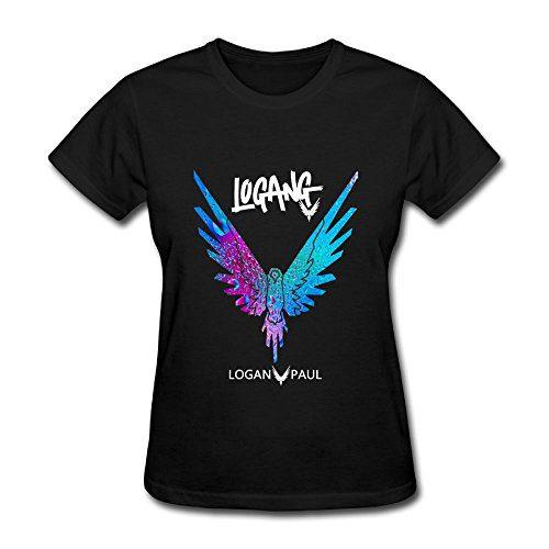 Women's Parrot Logo Logan Paul Youtube O Neck T-Shirts