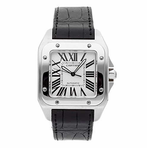 Cartier Santos 100 automatic-self-wind male Watch (Certified Pre-owned)
