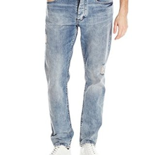Calvin Klein Jeans Men's Slim Fit Denim Jean, Beach Side, 32x30