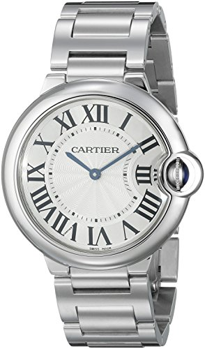 Cartier Unisex Ballon Bleu Stainless Steel Midsize Watch
