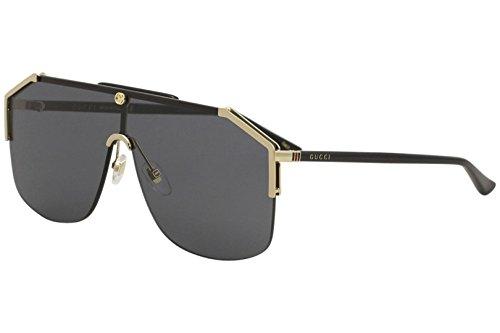 Gucci gg0291s 100% Authentic Men's Sunglasses Gold 001