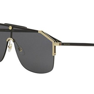 Gucci gg0291s 100% Authentic Men's Sunglasses Gold 001