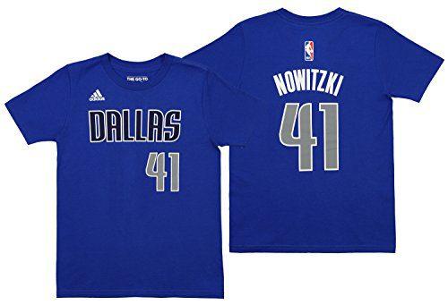Dirk Nowitzki Dallas Mavericks Youth Adidas NBA Player Blue T Shirt Clout Wear Fashion for Womens, Fashion for Mens, Fashion for Kids