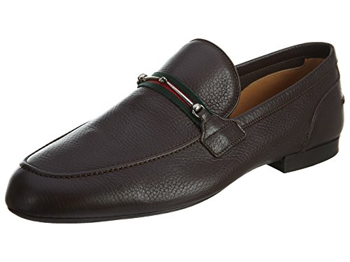 Gucci Calf Skin Leather Shoes Mens Style