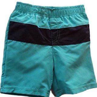 Infant Boy's Fashion Swim Trunks (24 Mos, Blue)