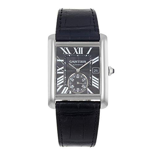 Cartier Watches Men's Tank Watch (Black)
