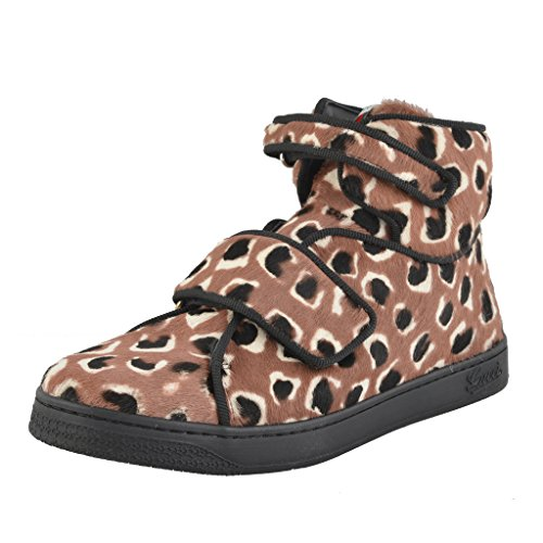 Gucci Children's Pony Hair Leather Hi Top Sneakers Shoes US 13 Gucci 31;