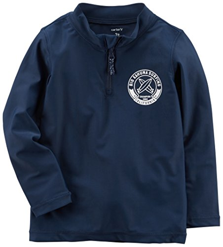 Carter's Big Boys' Rashguard, Navy, 7