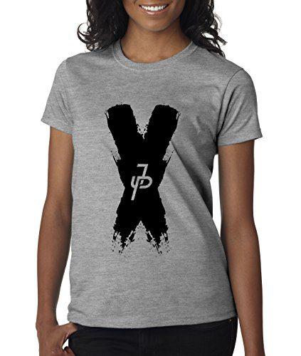 New Way - Women's T-Shirt Jake Paul X Team 10 Small Heather Grey