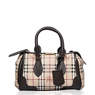 Burberry Gladstone Tote Bag Chocolate