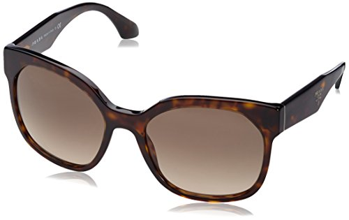 Prada Women's Sunglass Havana/Grey Gradient