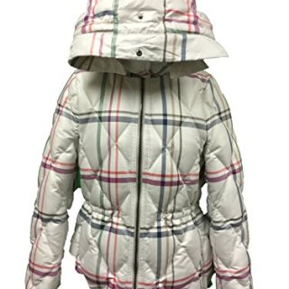 Coach Tattersall Short Legacy Puffer Without Fur Jacket Coat Multi-Color Medium