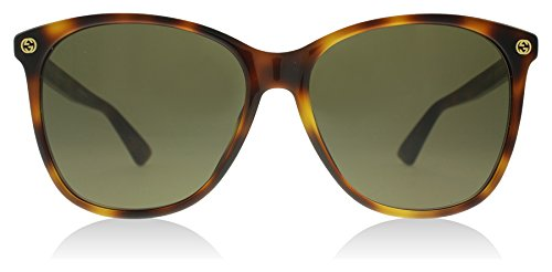 Gucci Havana Round Sunglasses Lens Category 3 Size 58mm