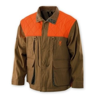 Browning Pheasants Forever Jacket,Tan/Blaze, X-Large