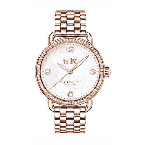COACH Women's Delancey 36mm Bracelet Rose Gold One Size